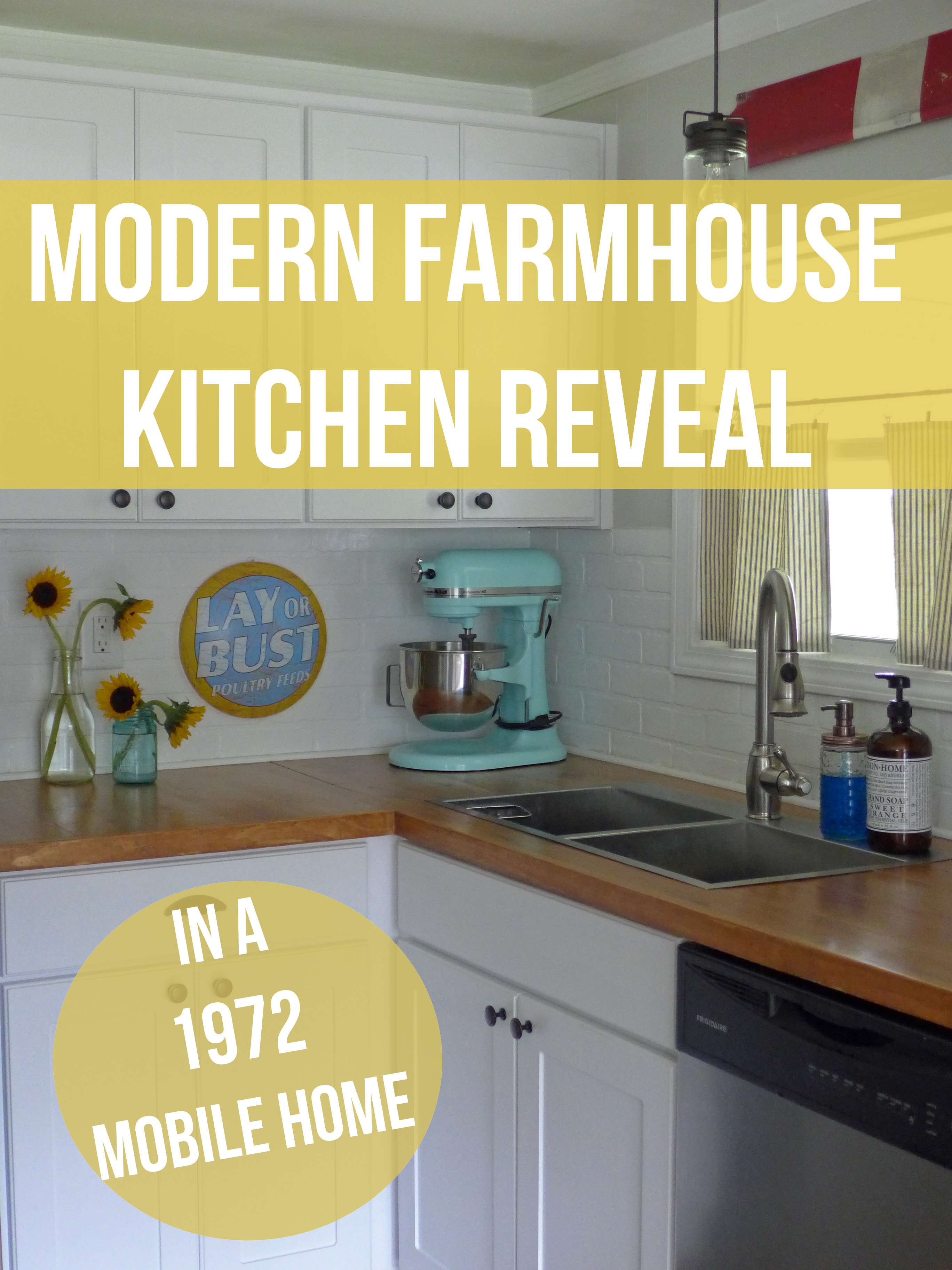 Modern Farmhouse Kitchen Reveal in a 1972 Mobile Home – The Wannabe on mobile home rustic kitchen ideas, mobile home kitchen organizers, mobile home kitchen plans, mobile home kitchen improvement, mobile home countertop replacement, mobile home countertop refacing, mobile home concrete, mobile home kitchen decorating ideas, mobile home bathroom tile, mobile kitchen counter, mobile home kitchen paint colors, mobile home kitchen islands, mobile home kitchen furniture, mobile home glass, mobile home kitchen appliances, mobile home kitchen cabinets, mobile home stone, mobile home kitchen makeovers, mobile home kitchen updates, mobile home kitchen sinks,